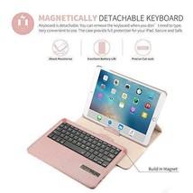 iPad Pro 10.5 Keyboard Case Degree Rotating Detachable Wireless Bluetoot... - $57.25