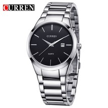 CURREN Luxury Classic Fashion Business Men Watches Display Date Quartz-watch Mal - $30.75