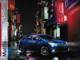 2013 Toyota MATRIX sales brochure catalog 13 US S AWD - $7.00