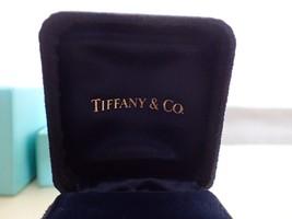 Tiffany & Co Authentic Genuine Double Ring Box With Original Tiffany Blu... - $74.62