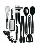 Home Starter 17 Pcs Cooking Utensil Server Spoon Measuring Cup Tool Gadg... - $63.07
