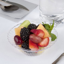 Plastic 5 Oz. Clear Round Dessert Bowl/Case of 180 - €44,96 EUR