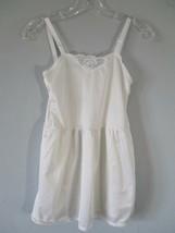 Girl's White Slip - $20.80