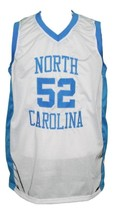 James Worthy #52 College Basketball Jersey Sewn White Any Size image 1
