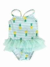 CIRCO Girls INFANT Swimsuit  With Tutu Seagreen Size 6-9 M NWT - $12.86