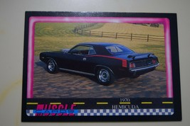 MUSCLE CARDS SERIES 1 KING OF THE HILL #8 1970 PLYMOUTH 426 HEMI CUDA - $3.72