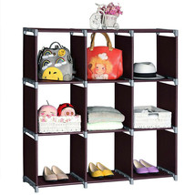 3 Tiers 9 Compartments Multifunctional Assembled Storage House Storage She - €72,60 EUR