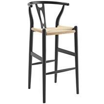 Amish Wood Bar Stool in Black - $309.38