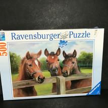 Ravensburger Horse puzzle 500 pcs Equine meeting - $44.60