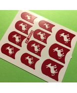 BANG STORE Nail Art Decal Stencil Stickers Cute Donkey XF. SO FUNNY - $2.12