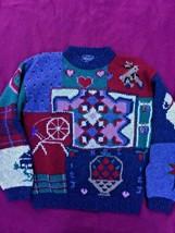 Woolrich Sweater 100% Wool Size M Woman's Hallmark Quality - $585,98 MXN
