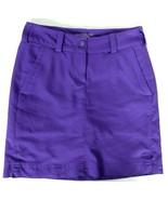 Nike Golf Women's Tour Performance Dri-Fit Skort Size 0 Purple 2 Pockets - $22.17