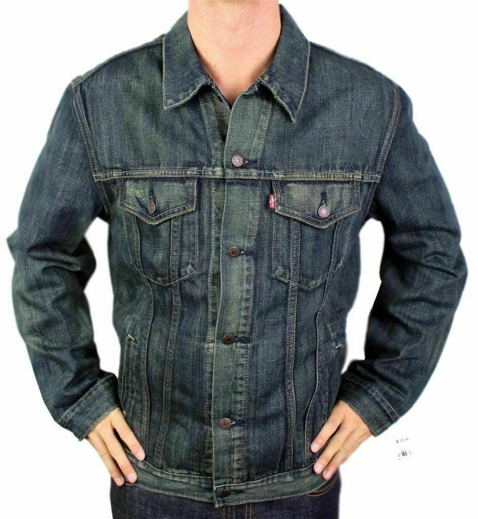 Levi's Men's Premium Classic Cotton Button Up Denim Jeans Jacket 705890019