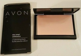Avon BLOT AWAY Shine Removal Sheets New Box of 50 Oil Absorbing Sheets - $8.89