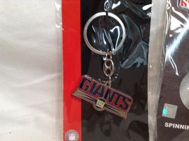 NEW NFL NY Giants Set of 5 Key Chains image 6