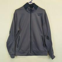 Nike Roger Federer Premier Knit Jacket Mens L RF Purple Steel 523321 Large - $88.51