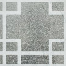 Neutral Trellis - Self-Adhesive Printed Window Film Home Decor(Sample) - $1.98