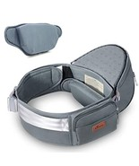 SUNVENO Hip Seat Soft Baby Carrier Ergonomic Waist Front Carrier with Ad... - $36.29