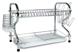 Better Chef DR-164, 16-Inch, Chrome Plated, R-Shaped, Rust-Resistant, 2-... - $26.26