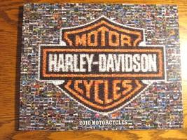 2010 Harley Davidson Brochure, Street Sportster Dyna Softail V-Rod Electra Glide - $11.76