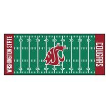 "Fanmats NCAA Washington State Cougars Field Runner Mat Area Rug Large 30"" x 72"" - $54.44"