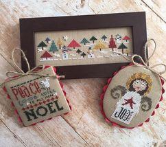 Christmas Cheer 3 cross stitch chart Heart in Hand - $11.70