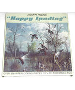 Leaning Tree Happy Landing Jigsaw Puzzle 550 pieces - $11.95