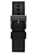 MVMT Chrono - 20mm Black Leather Watch Strap - $29.95