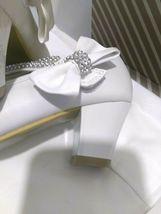 AISLE STYLE Girls Low Mid Heel Party Wedding Mary Jane Style Shoes Size 28 UK image 8