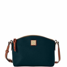 Dooney & Bourke Suki Pebbled Leather Crossbody (Black/Brown)