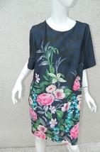 Eliza J Dress Blue Floral Dress Sz 14 - $55.85