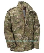 M65 US FIELD JACKET QUILT LINER VINTAGE MILITARY ARMY COMBAT COAT MULTI ... - $56.90