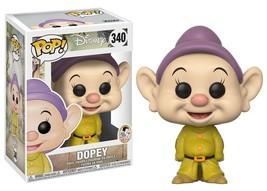 Walt Disney Snow White & Seven Dwarfs Dopey Vinyl POP! Figure Toy #340 F... - $12.55