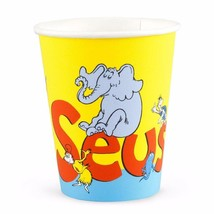 Dr. Seuss Cat in the Hat 9 oz Paper Cups 8 Per Package Birthday Party Supplies - $5.89