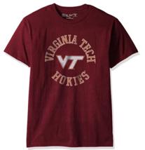 NCAA YOUTH Victory Vintage Tee Virginia Tech Hokies - Maroon - Size Small - $12.82
