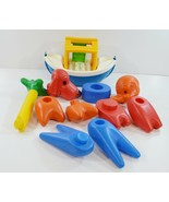 Vintage Tupperware Toys Zoo It Yourself Animal Set 14 Piece Tuppertoys N... - $35.99