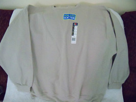 Fruit of the Loom Stone Color Sweat Shirt Size 3XL Men's NEW LAST ONE - $21.60