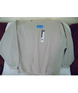 Fruit of the Loom Stone Color Sweat Shirt Size 3XL Men's NEW LAST ONE - $19.92