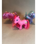 Vtg Lot 3 My Little Pony Horses Toys Figures - $17.77