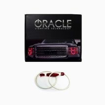 Oracle Lighting DO-RA0205F-R - Dodge Ram LED Halo Fog Light Rings - Red - $105.40
