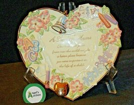 A Teacher's Heart Plate - Lessons from the Heart C B4508 Collection AA20-2079 Vi image 5
