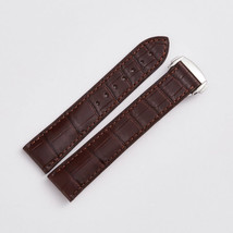 Strap Bracelet FOR Omega Crocodile grain Speedmaster Seamaster band Brown 19mm - $99.99