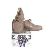 SAS Siesta Mocha Leather Lace Up Loafer Comfort Shoes Size 6 1/2 M NIB - $59.39