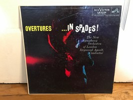 Raymond Agoult Overtures in Spades LP RCA London Symphony Orchestra Reco... - £7.94 GBP
