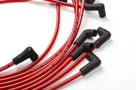8.0mm Red Silicone Spark Plug Wires V6 V8 For Chevy Chevrolet GMC 4.3L 5.0L 5.7L image 4