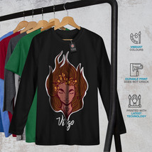 Virgo Tee Zodiac Sign Women Long Sleeve T-shirt image 2