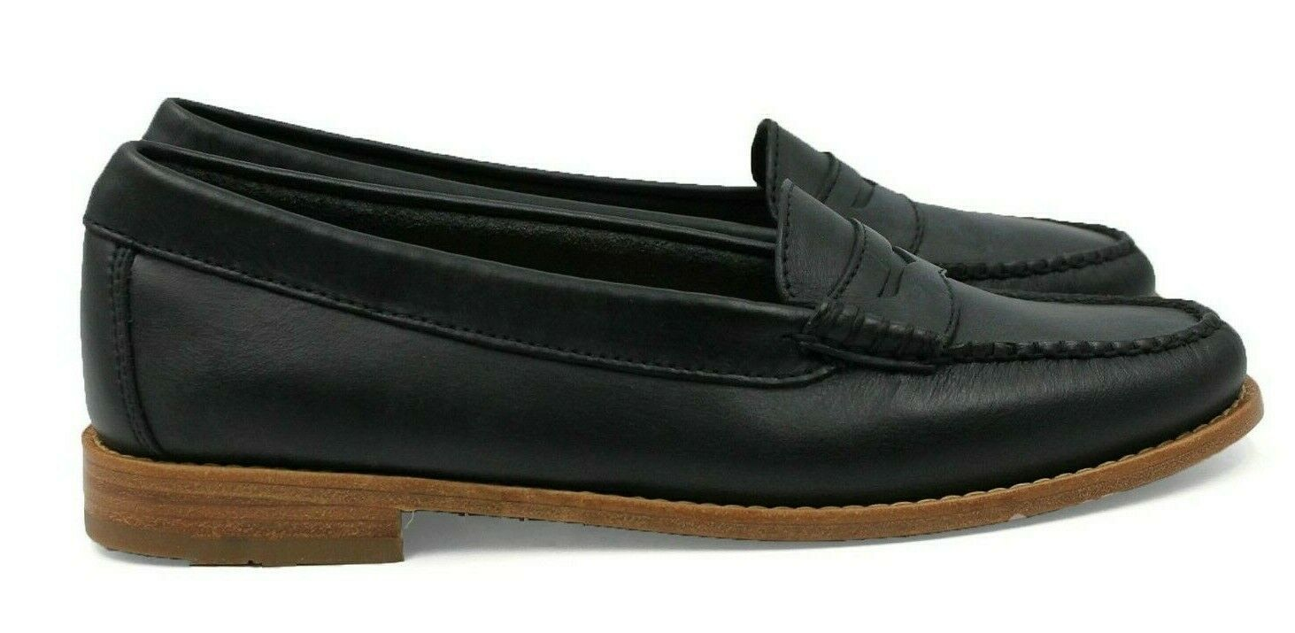 G.H. BASS & CO. Weejuns Winslet Women's Leather Loafer - Black - Size 8 - NEW
