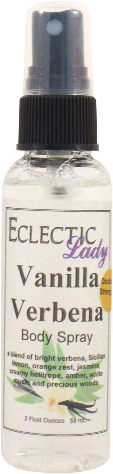 Vanilla Verbena Body Spray