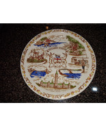 Ontario Canada SOUVENIR PLATE VINTAGE 1950s CERAMIC JAPAN ESD LOVELY! - $9.00