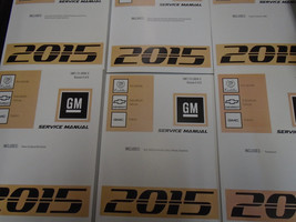 2015 Escalade GMC Yukon Chevy Suburban Tahoe Service Shop Repair Manual ... - $494.97
